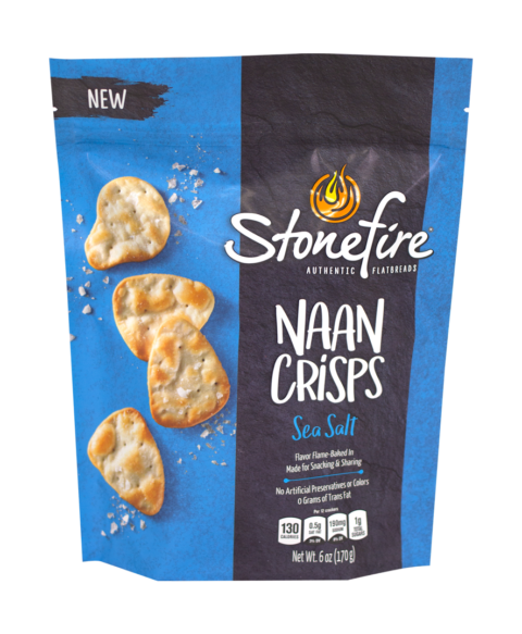 Sea Salt Naan Crisps